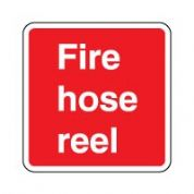 Fire safety sign - Fire Hose Reel Text 072